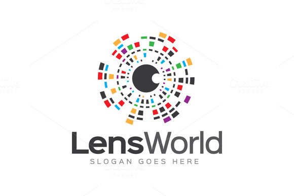 Lens World Logo
