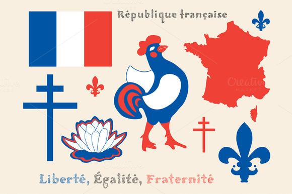 Principal Symbols Of France