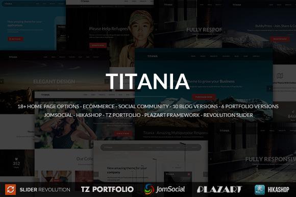Titania Responsive Joomla Template