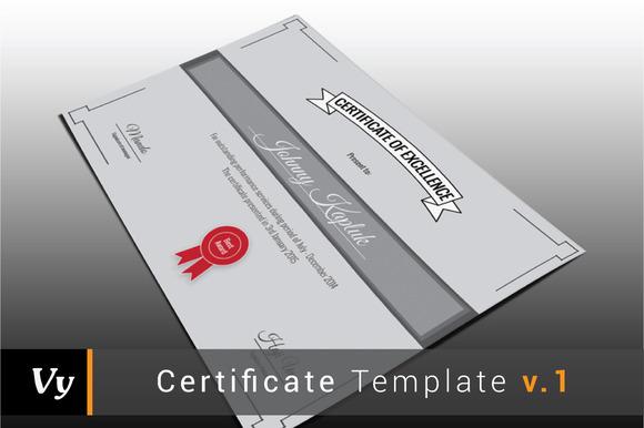 Certificate Template V.01