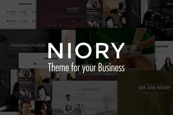 Niory One Page Joomla Template