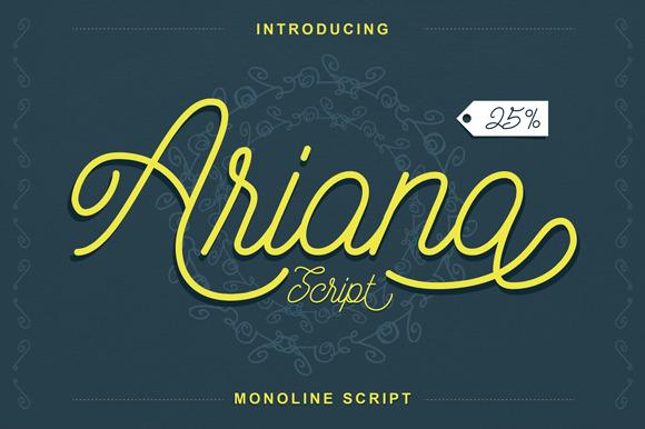Ariana Script Bonus
