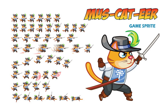 Mus-CAT-eer Game Sprite