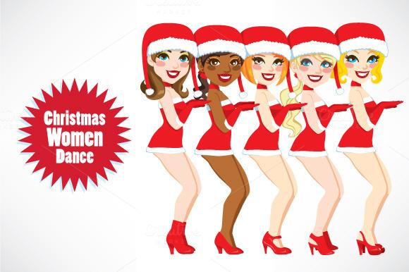 Santa Women Dance