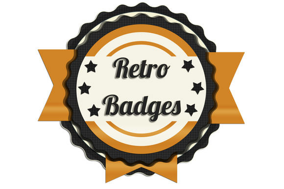 High Quality Retro Badges