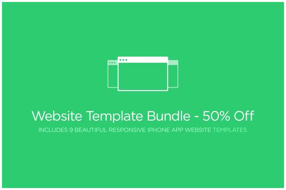 Website Template Bundle 50% Off