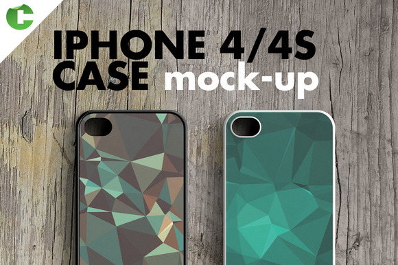 IPHONE 4 4S CASE MOCK-UP