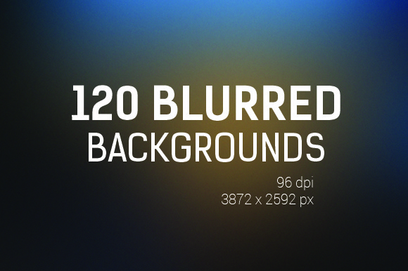 120 Blurred Backgrounds