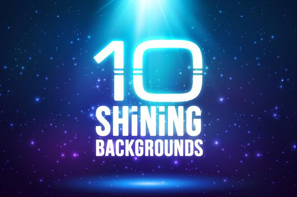 10 Magic Light Backgrounds