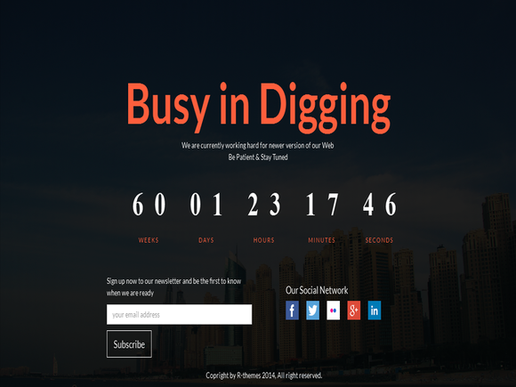 Digging-Responsive Coming Soon