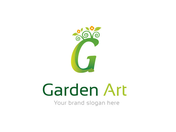 Garden Art Logo Template