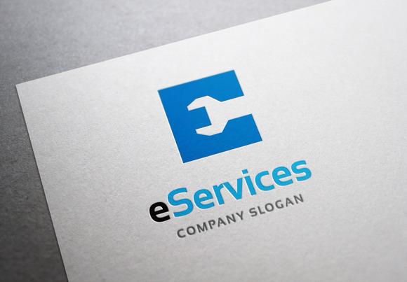 E Services Logo
