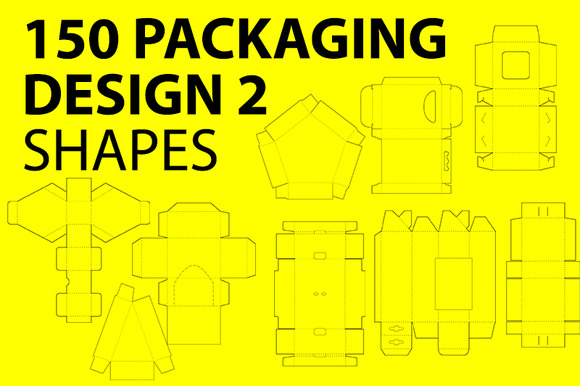150 Packaging Design Shapes 2