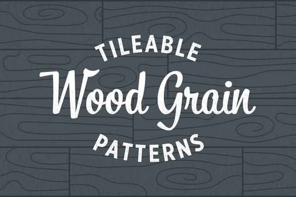 Wood Grain Patterns Tileable