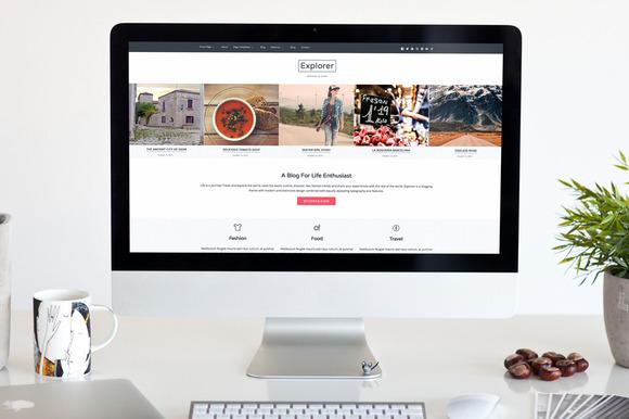 Explorer WordPress Theme