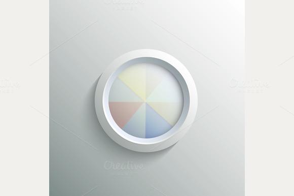 Abstract 3D Circle