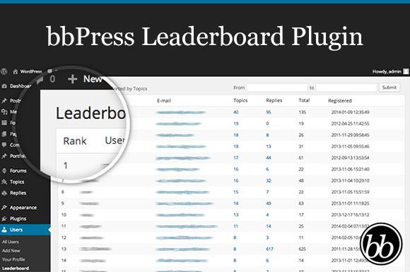 BbPress Leaderboard Plugin