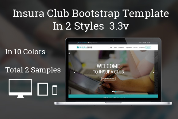 Insura Club Bootstrap One Page Theme