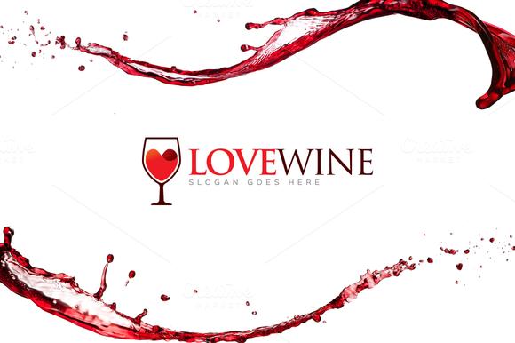 Love Wine Wine Logo