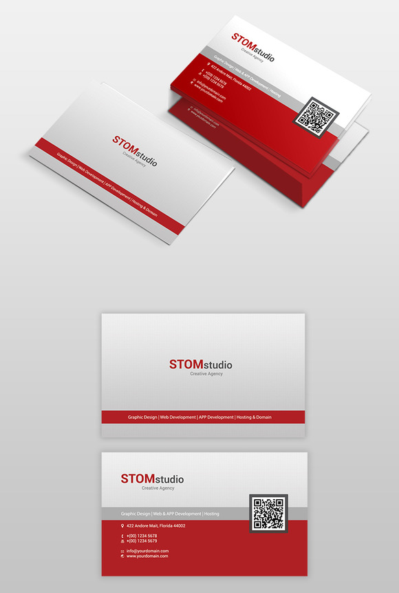STOMstudio Business Card PSD