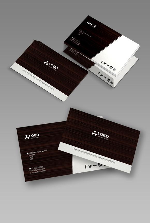 Simple Business Card PSD