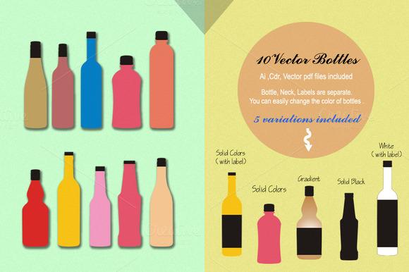 Vector Bottles