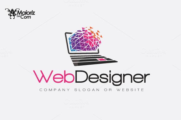 Web Designer Logotype Template