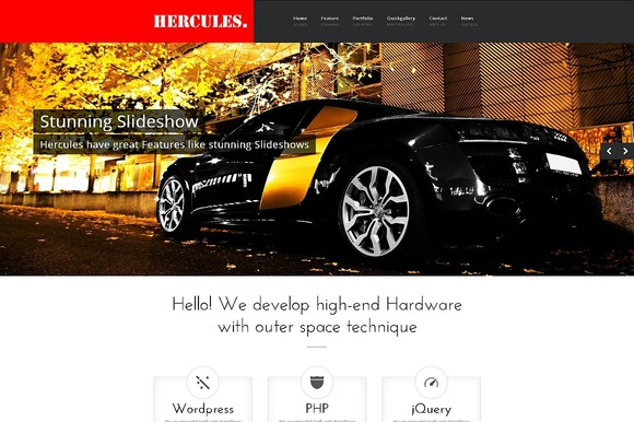 Hercules Multipurpose WordPress