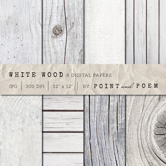 White Wood Texture Pack