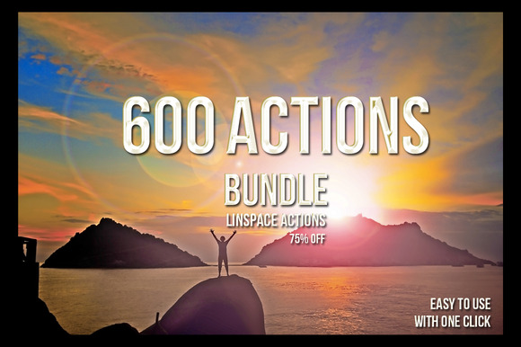 600 PS Actions Bundle