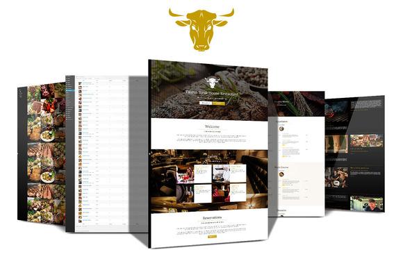 Taurus Restaurant Responsive Theme