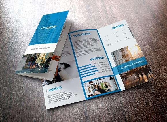 Multi Purpose TriFold Brochure