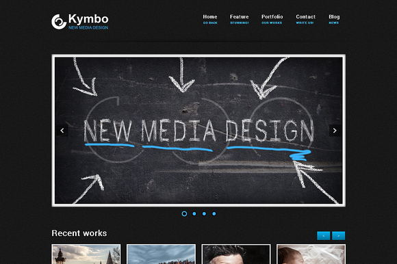Kymbo Responsive WordPress Theme