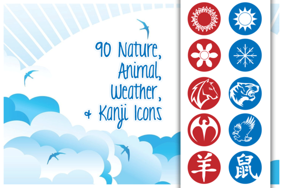 Animal Nature Weather Icons