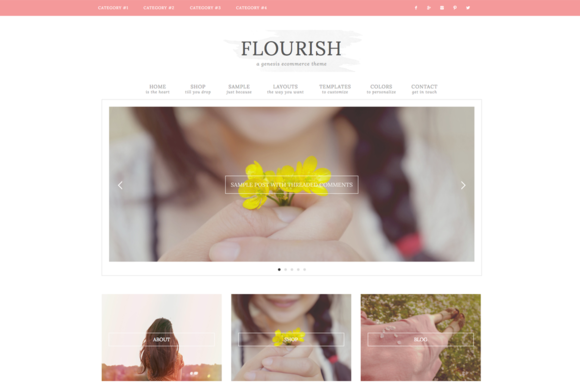 Flourish Ecommerce Genesis Theme