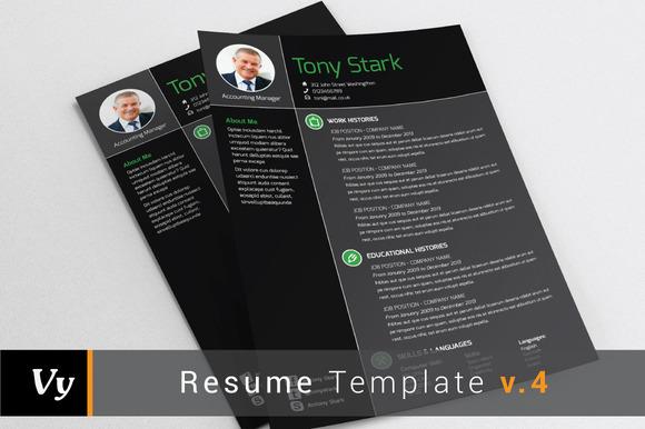 Resume Template V.04