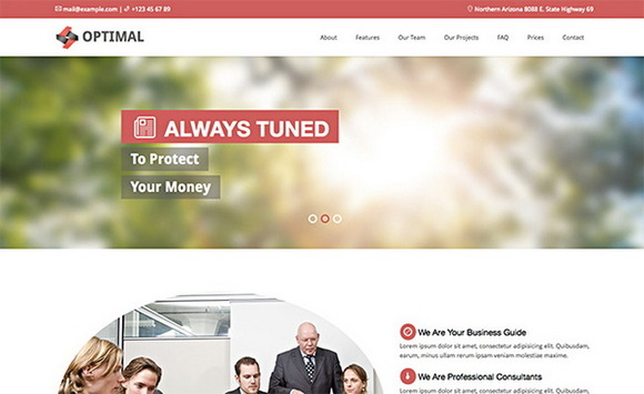 Optimal Premium Theme For Business