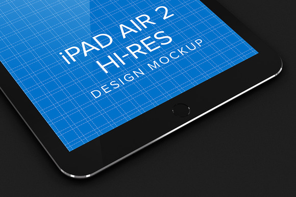 IPad Air Design Mockup