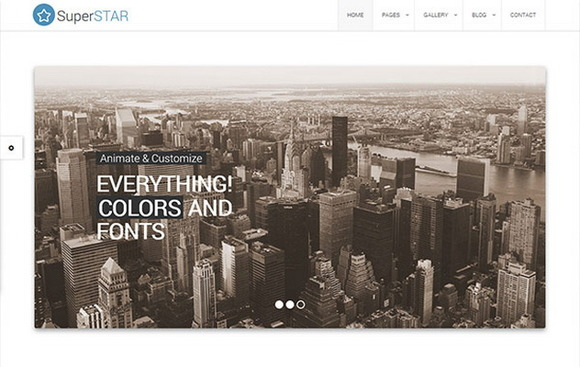 SuperStar Corporate Theme