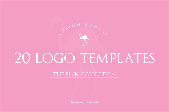 20x Pink Logo Bundle
