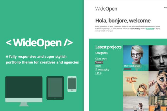 WideOpen Responsive WordPress Theme