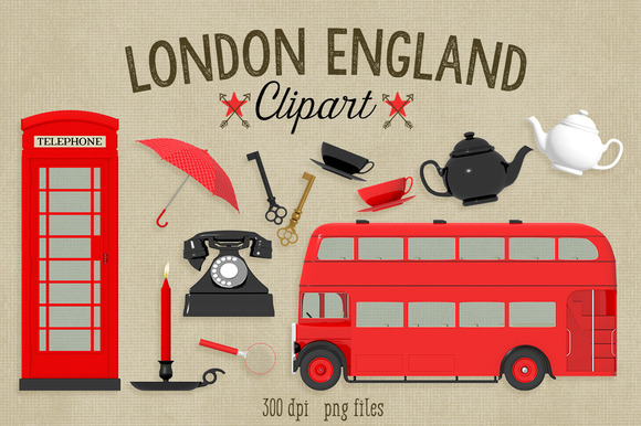 London England Clipart