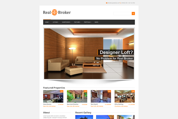Realbroker WordPress Real Estate