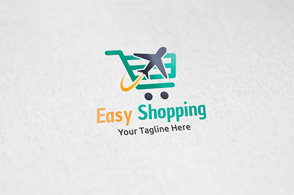 Easy Shopping Logo Template