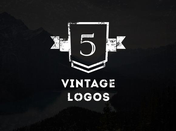 5 Vintage Logos