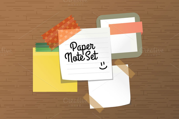 Paper Note Set