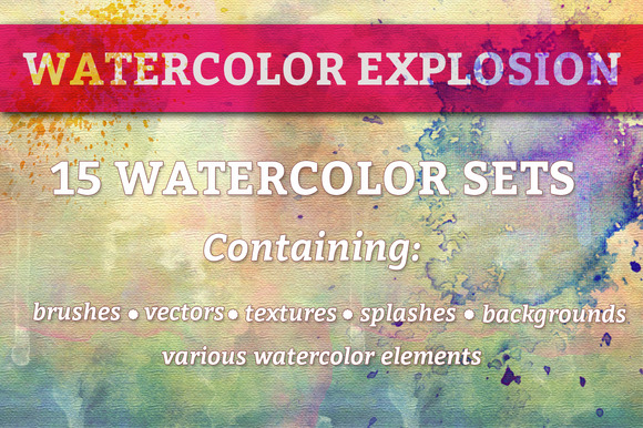 Mega Watercolor Bundle