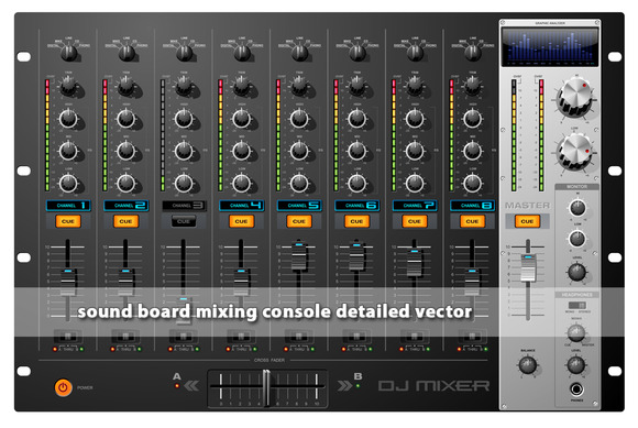 Sound Board Mixing Console Mixer