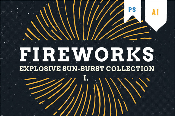 Fireworks Hand Draw Explosion Pack