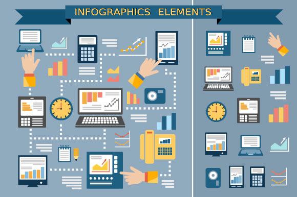 Monitor Infographics